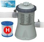 Intex papírszűrős vízforgató szivattyú 1250l/h 30W 28602