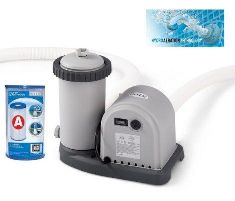 Intex papírszűrős vízforgató szivattyú 5,7m3/h 165W 28636