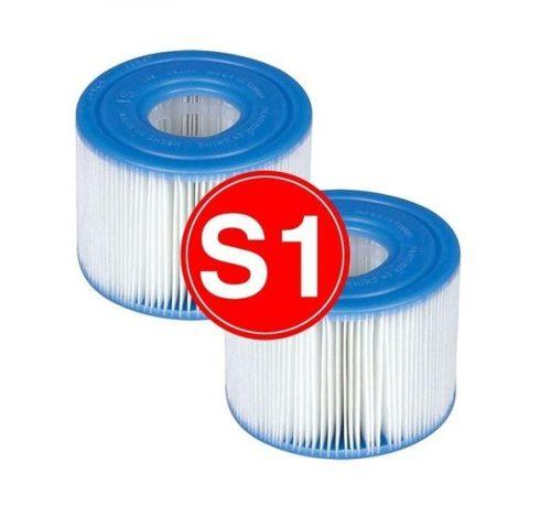 Intex S1 papír szűrőbetét jakuzzihoz (2db/cs) 29001