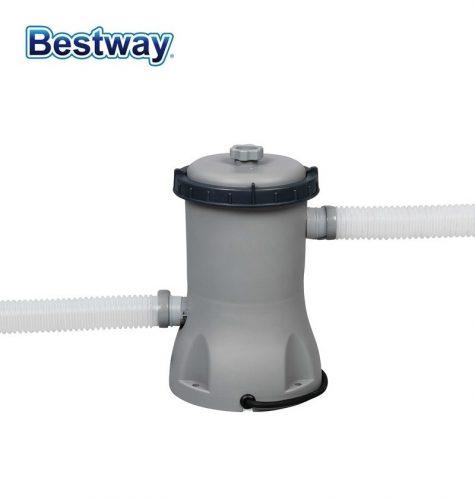 Bestway papírszűrős vízforgató szivattyú 2m3/h 29W 58383