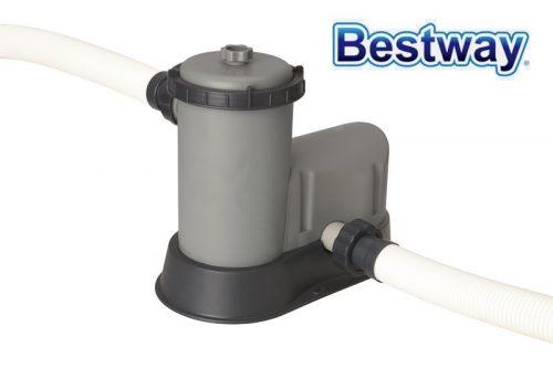 Bestway papírszűrős vízforgató szivattyú 5,7m3/h 86W 58389