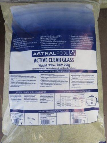 AstralPool aktivált üvegfilter 25kg 0,5-1mm AP-57011